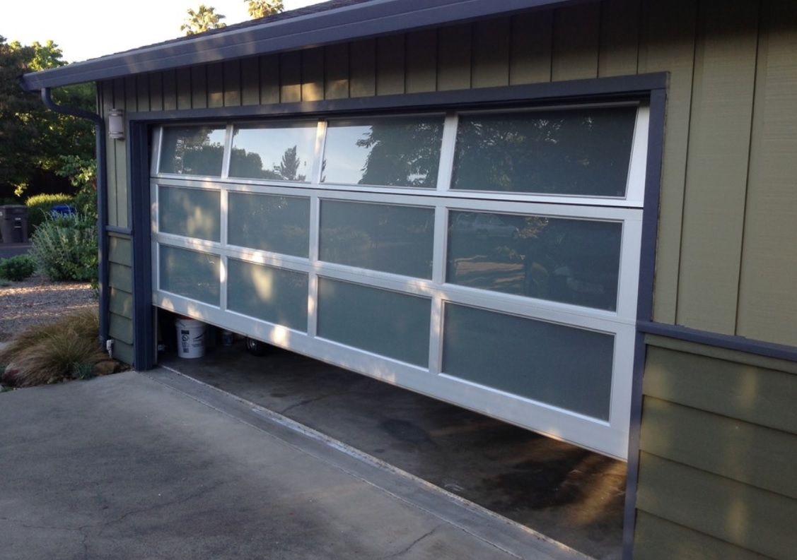 pin through valley with walk hudson doors repair door installation residential d garage
